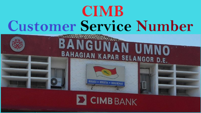 CIMB Customer Service Number