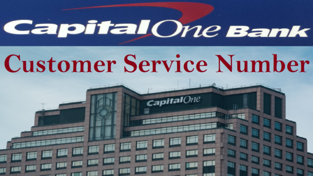 Capital One Customer Service Number