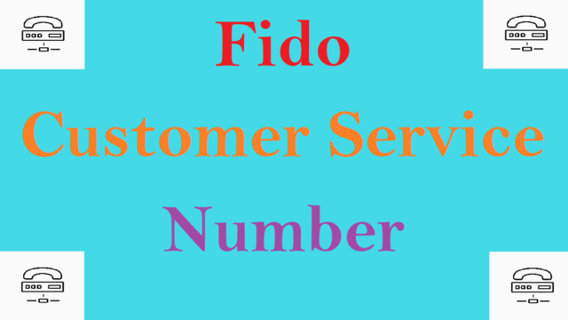 Fido customer service number