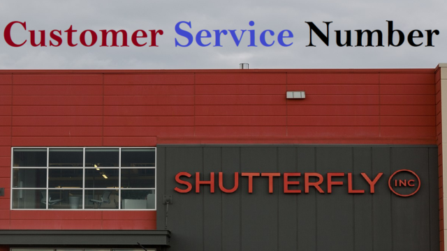 Shutterfly Customer Service Number