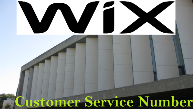WIX Customer Service Number