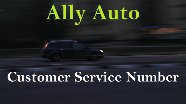 Ally Auto Customer Service Number