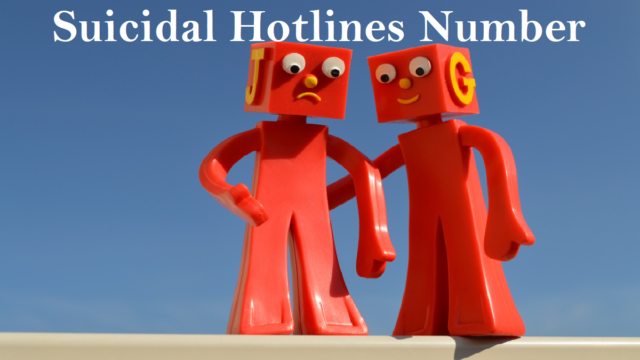 Contact Suicidal Hotlines Number