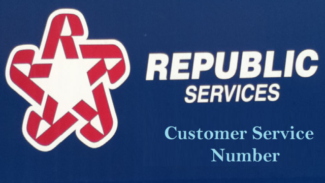 Republic Services Customer Service Number