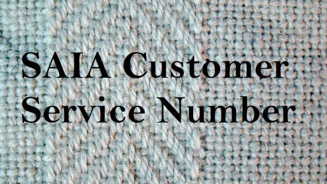 SAIA Customer Service Number