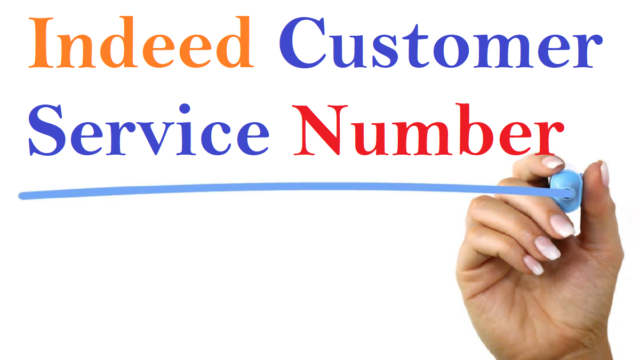 Indeed Customer Service Number