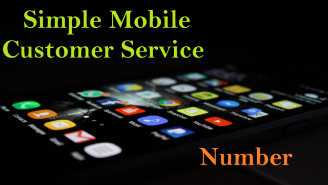 Simple Mobile Customer Service Number