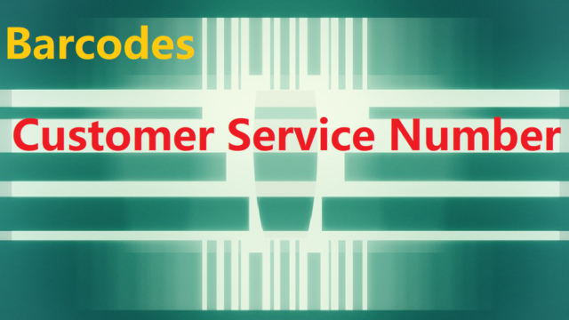 Barcodes Customer Service Number