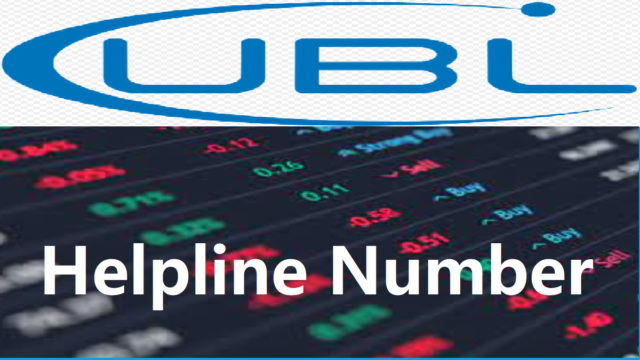UBL Helpline Number