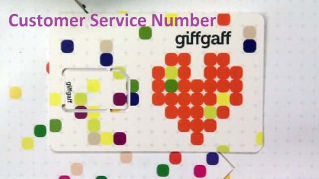 giffgaff Customer Service Number