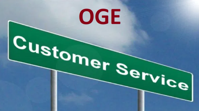 OGE Customer Service Number