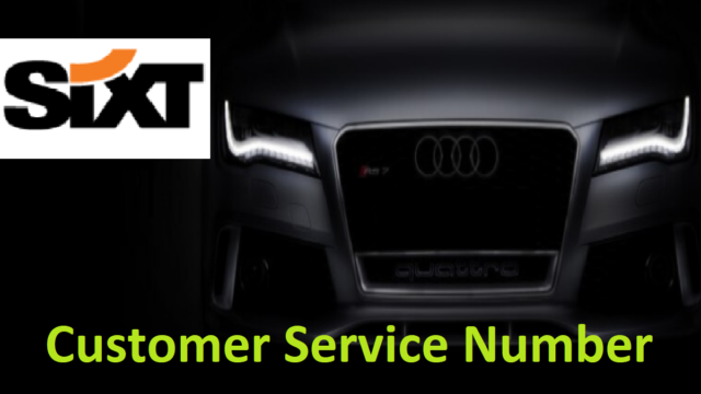 Sixt Customer Service Number